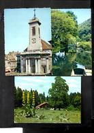 3 CPSM De BRIANCON (Eglise St Pierre, Site Agréable &  Gde Gentiane) Ecrites Vers 1975 - Besancon