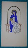 Cartolina Meschini. Dipinta A Mano. (Formato Tessera). - Altre Illustrazioni