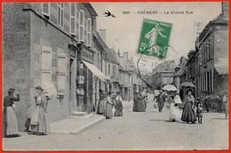 CPA 58 PREMERY Nièvre - La Grande Rue - France