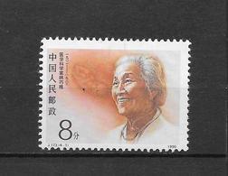 LOTE 1799  ///  (C025)  CHINA   YVERT: 3022**MNH - LIN QIAOZHI - 1949 - ... Repubblica Popolare