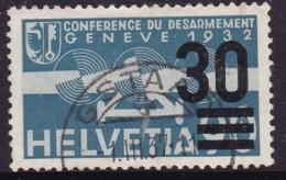 Switzerland 1936 Airmail Sc C23 Used - Poste Aérienne