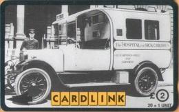 United Kingdom - GPT, 3CLKD, Great Ormond Street Hospital - Old Ambulance, 20+1 U, 3,000ex, Used - Ver. Königreich