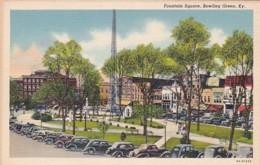 Kentucky Bowling Green Fountain Square Curteich - Bowling Green