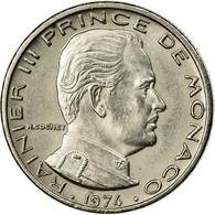 Monnaie, Monaco, Rainier III, 1/2 Franc, 1974, TTB, Nickel, Gadoury:MC 149 - Monaco