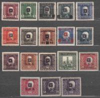 Yugoslavia, Kingdom SHS, Issues For Bosnia 1919 Mi#33-50 Mint Hinged - 1919-1929 Kingdom Of Serbs, Croats And Slovenes