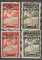 Yugoslavia SHS, Issues For Bosnia 1918 Mi#17-18 I And II Two Overprint Types (latin Vs, Cyrilic Letter) Rarer W. Cert. - Nuevos