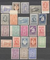 Greece 1947 And 1950 Two Complete Sets Mi#549-558 And Mi#563-575 Excellent Mint Never Hinged - Greece