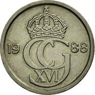 Monnaie, Suède, Carl XVI Gustaf, 10 Öre, 1988, TTB, Copper-nickel, KM:850 - Suède