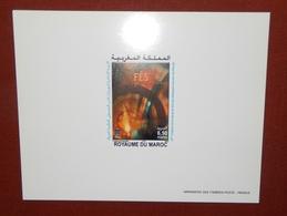 MAROKKO MOROCCO MARRUECOS  MAROC 10IEME EDITION FESTIVAL DE FES MUSIQUE SACREE  EPREUVE DE LUXE ( DELUXE PROOF ) 2004 - Morocco (1956-...)