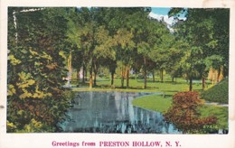 New York Greetings From Preston Hollow - NY - New York
