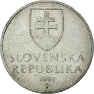 Monnaie, Slovaquie, 50 Halierov, 1993, TTB, Aluminium, KM:15 - Slovakia