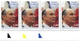 FRANCE 1997 N° 3042** MITTERAND  BLOC DE 4. BDF - France