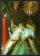 C0909 - TOP Engel Angel - Glückwunschkarte Weihnachten - Horn - Non Classificati
