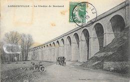 Longueville (Seine-et-Marne) - Le Viaduc De Besnard, Moto Tricycle - Edition Vernant - Autres Communes