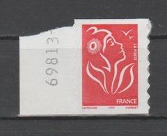 FRANCE / 2005 / Y&T N° 3744 ** Ou AA 49a ** : Lamouche ITVF TVP LP Adhésif Coin De Carnet + N° - Etat D'origine - Adhésifs (autocollants)