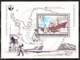 BL42  Expédition Antarctique - Oblit. 1er Jour - LOOK!!!! - Blocs 1962-....