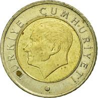 Monnaie, Turquie, 50 Kurus, 2009, TB+, Bi-Metallic, KM:1243 - Turquie