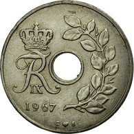 Monnaie, Danemark, Frederik IX, 25 Öre, 1957, Copenhagen, TTB, Copper-nickel - Danemark