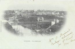 Thouars (Deux-Sèvres) - Vue Générale - Librairie Parisienne - Carte Dos Simple - Thouars