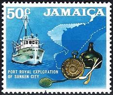 Jamaica 1970 - Exploration Of Sunken City ( Mi 318 - YT 326 ) MNH** - Jamaique (1962-...)
