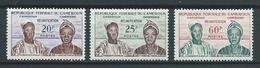 CAMEROUN 1962 . Série N°s 329 à 331 . Neufs ** (MNH) - Cameroun (1960-...)
