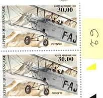 FRANCE 1998  PA N°62** POTEZ LA PAIRE BDF - Airmail