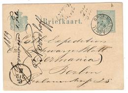 11521 - GRONINGEN Avec Repiquage - Postal Stationery