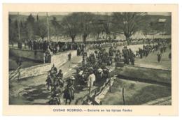 Espagne. Ciudad Rodrigo, Encierro En Las Tipicas Fiestas (7511) - Salamanca