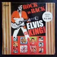Elvis Presley - Rock Is Back, Elvis Is King LP Vinyl Record - South Africa Edition CAP 3 - Rock