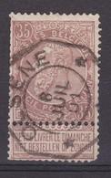 N° 61 Défauts  TELEGRAPHIQUE  OLSENE - 1893-1900 Fine Barbe