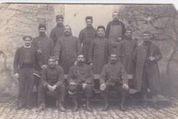 Groupe De Soldats Du 6ème Régiment D'Infanterie Territoriale - Basé à Béthune & Hesdin (62) - Carte Photo - Regimente