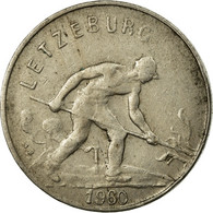 Monnaie, Luxembourg, Charlotte, Franc, 1960, TB+, Copper-nickel, KM:46.2 - Luxembourg
