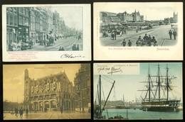 Mooi Lot Van 60 Postkaarten Van Nederland  Noord - Holland   Amsterdam  - 60 Scans - Postkaarten