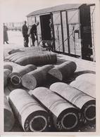 MUNITIONSNACHSCHUB   FOTO DE PRESSE WW2 WWII WORLD WAR 2 WELTKRIEG Aleman Deutchland - Trenes