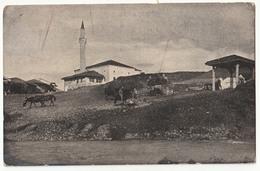 Gjakova Djakovica - Mosque - Old Postcard Travelled 192? Djakovica To Travnik B181215 - Kosovo