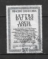 Andorre Francais Timbre  De 1983 N°315 Oblitéré - Oblitérés