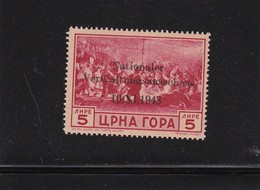 Besetzung II. WK, Montenegro: MiNr. 14, ** - Occupation 1938-45