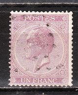 21A  Leopold Ier - Bonne Valeur - Oblit. - LOOK!!!! - 1865-1866 Profil Gauche