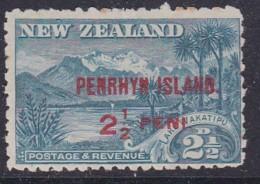 Penrhyn Island 1902 Sc 9 Mint Hinged - Penrhyn