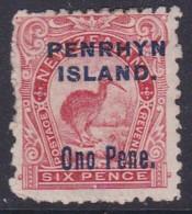 Penrhyn Island 1903 Sc 11 Mint Hinged - Penrhyn