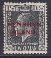 Penrhyn Island 1917 Sc 18 Mint Hinged - Penrhyn
