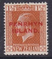 Penrhyn Island 1917 Sc 19 Mint Hinged - Penrhyn