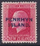 Penrhyn Island 1918 Sc 23 Mint Hinged - Penrhyn