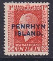 Penrhyn Island 1917 Sc 24 Mint Hinged - Penrhyn