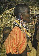 Femme Masaï, Kenya 1972 - Photo Albert Robillard Dédicacée - Afrique