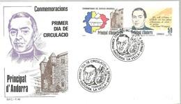 FDC 1983 - Andorra Española