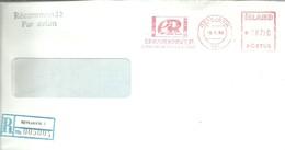LETTER REGISTERED  1988 - 1944-... Republique