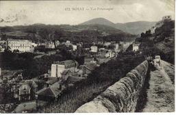 63 Royat En 1917 N°472 Vue Pittoresque Hôtel Du Parc Et Métropole Voir ZOOM Landau Ancien - Royat