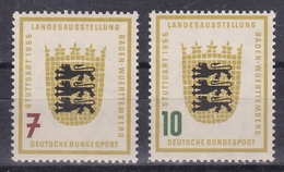 GERMANIA BUND  1955  Xx    MI 212-13 -   Postfrisch    -  Vedi  Foto  ! - [7] République Fédérale