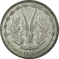 Monnaie, West African States, Franc, 1975, Paris, TB+, Aluminium, KM:3.1 - Côte-d'Ivoire